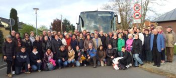 2016-04-28  voyage à Krostitz - photo du groupe